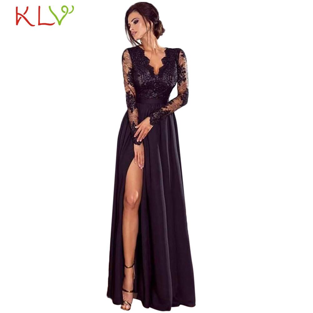 15 Schön Langes Schwarzes Kleid Ärmel15 Coolste Langes Schwarzes Kleid Bester Preis