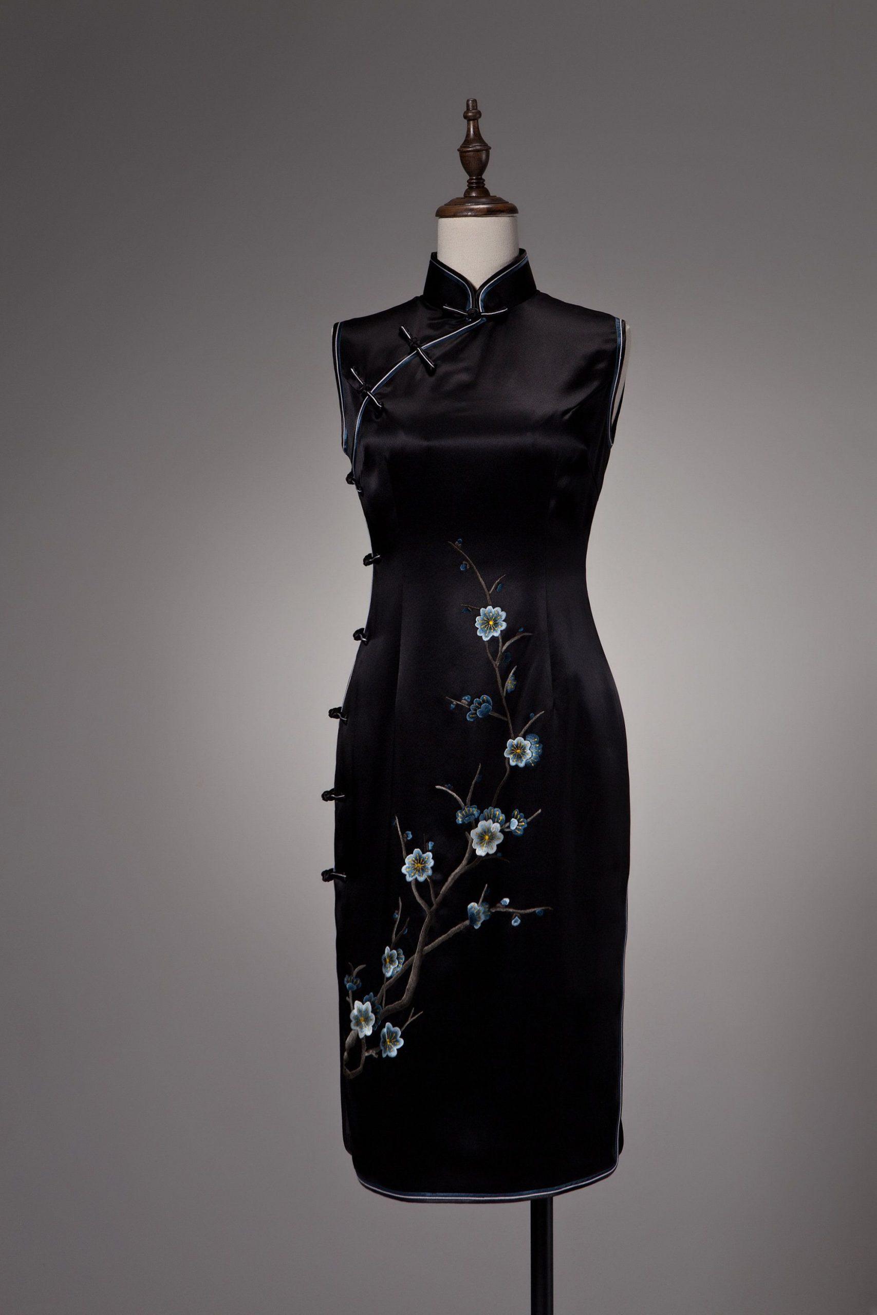 Abend Genial Qipao Abendkleid Vertrieb Ausgezeichnet Qipao Abendkleid Design