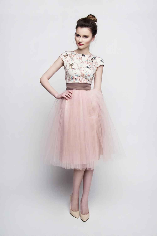 Schön Rosa Kleid Langarm DesignDesigner Coolste Rosa Kleid Langarm Boutique