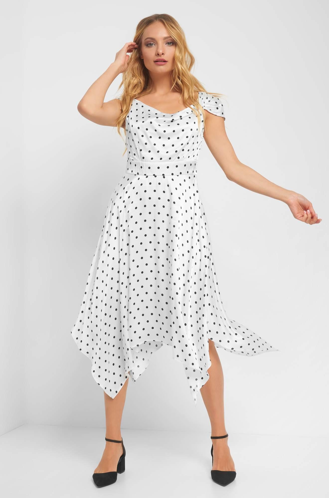Abend Schön Kleid Mit Punkten SpezialgebietFormal Großartig Kleid Mit Punkten für 2019