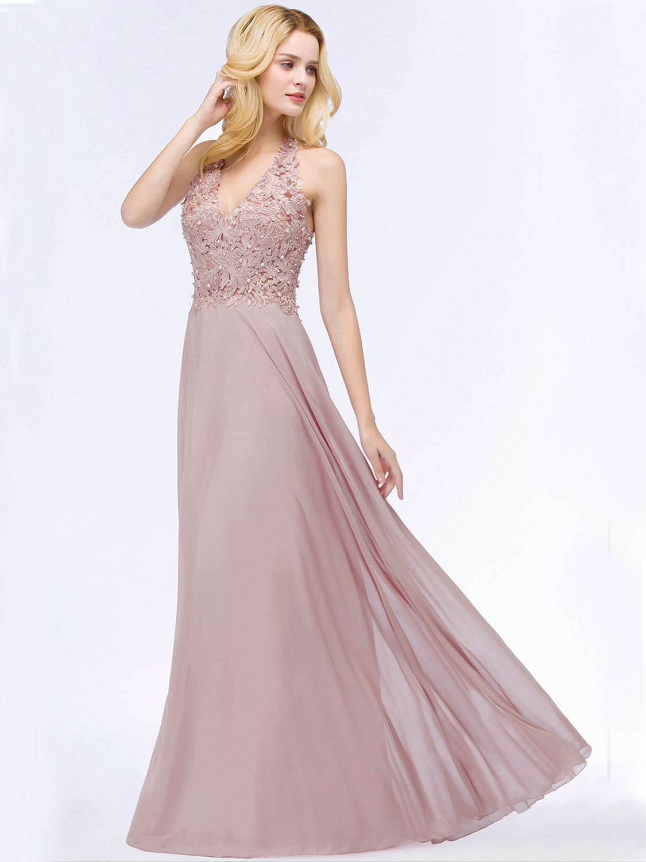 Formal Großartig Abendkleid In Altrosa StylishFormal Schön Abendkleid In Altrosa Bester Preis