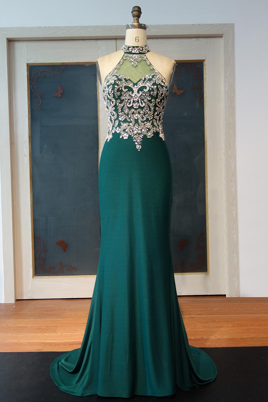 15 Ausgezeichnet Grüne Abendkleider für 201920 Luxus Grüne Abendkleider Bester Preis