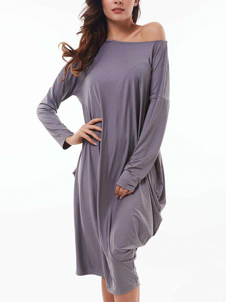 17 Ausgezeichnet Kleid Grau Langarm BoutiqueFormal Perfekt Kleid Grau Langarm Bester Preis