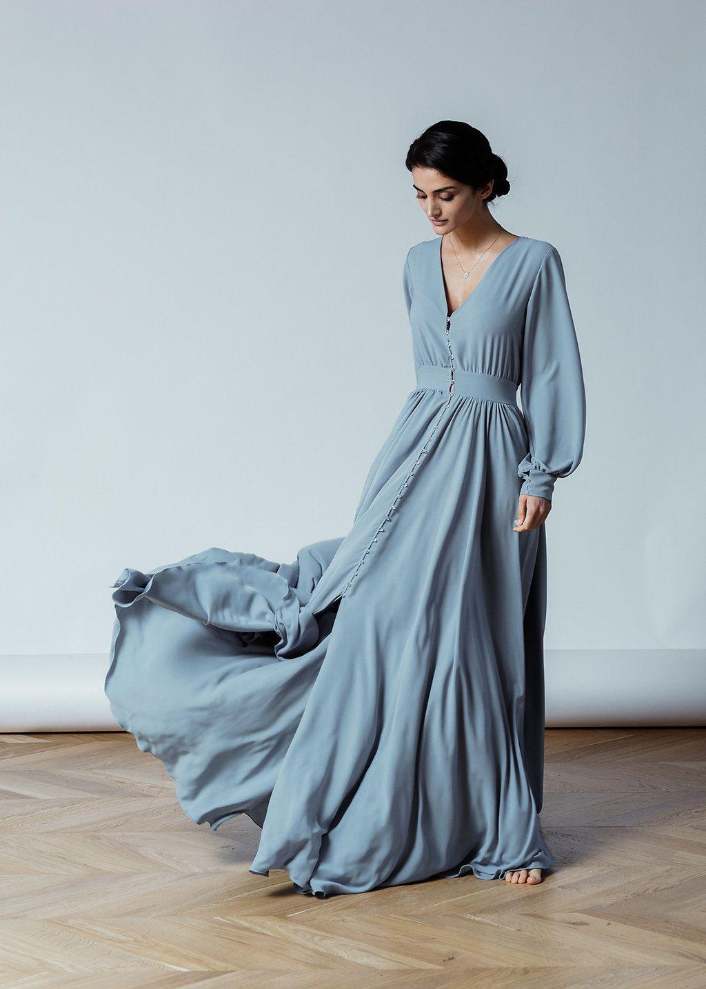 Designer Erstaunlich Kleid Grau Langarm Bester Preis13 Schön Kleid Grau Langarm Vertrieb