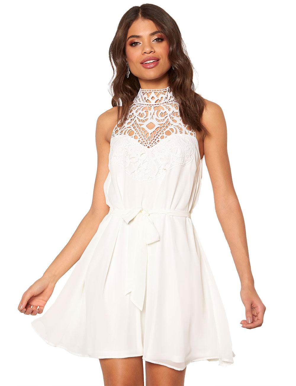 Wunderbar Kurzes Kleid Mit Spitze VertriebAbend Ausgezeichnet Kurzes Kleid Mit Spitze Ärmel