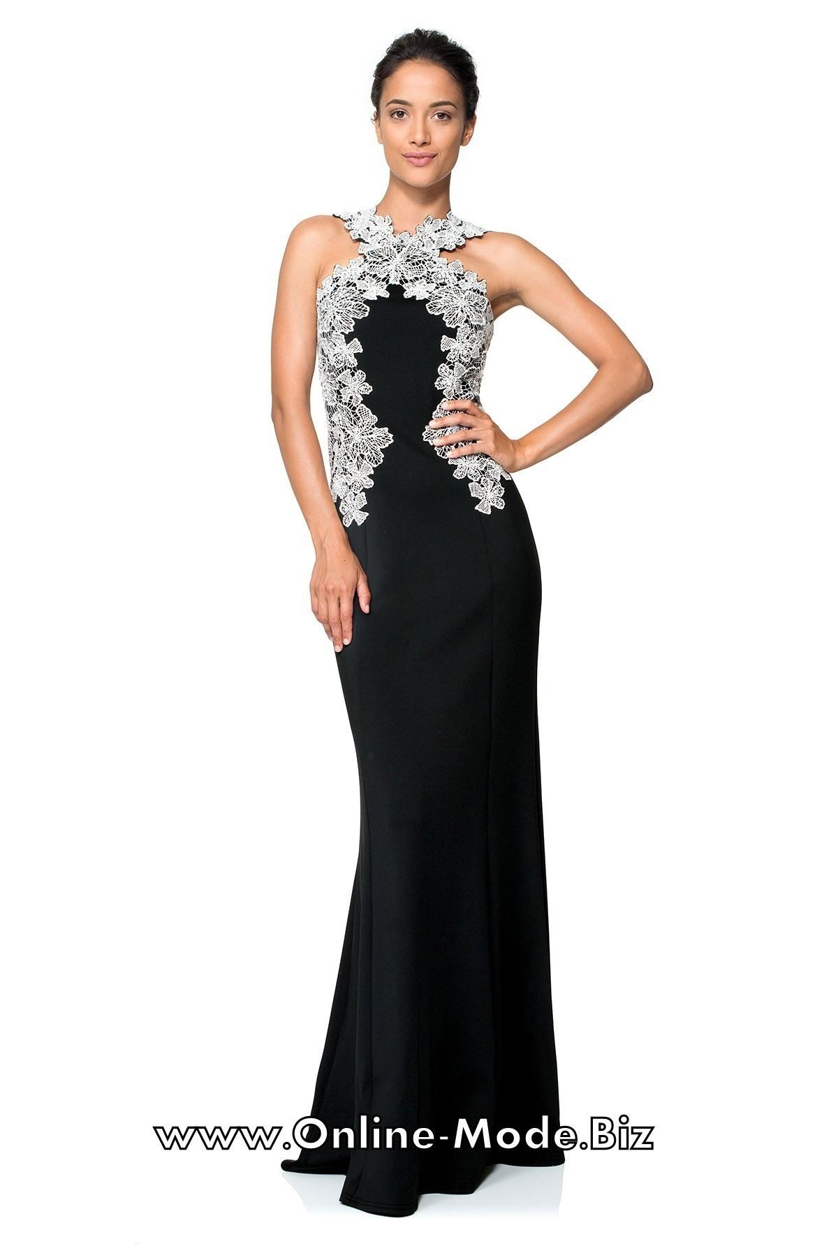 Großartig Schwarzes Bodenlanges Kleid Design Luxus Schwarzes Bodenlanges Kleid Galerie