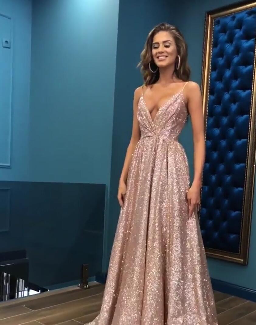 Formal Luxurius Abendkleid Glitzer für 201917 Luxurius Abendkleid Glitzer Stylish