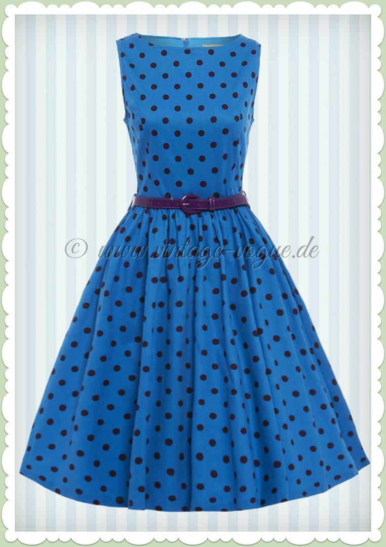 Schön Blaues Kleid Mit Punkten ÄrmelFormal Elegant Blaues Kleid Mit Punkten Spezialgebiet