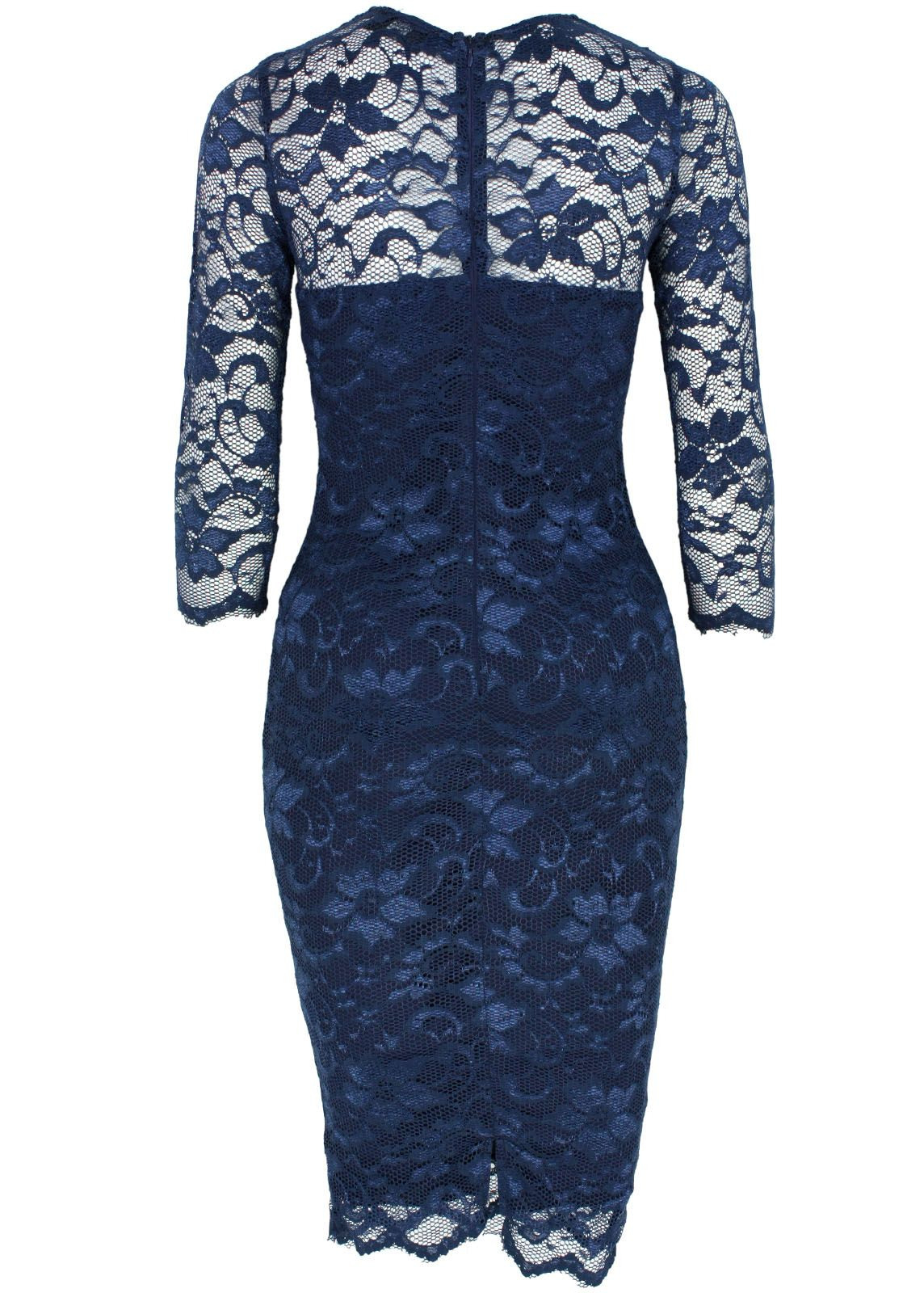 Designer Coolste Spitzenkleid Blau Galerie20 Luxurius Spitzenkleid Blau Stylish