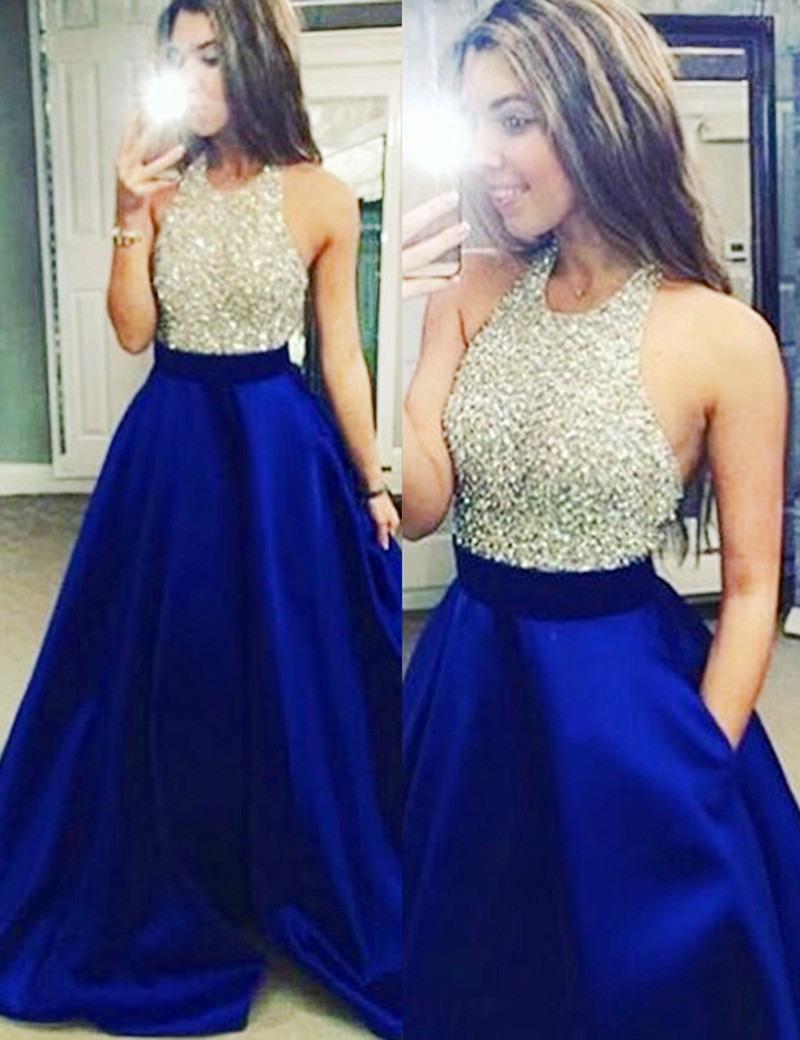 Formal Perfekt Abendkleid Royalblau Ärmel15 Genial Abendkleid Royalblau Vertrieb