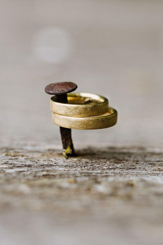 Goldene Eheringe Am Nagel // Golden Weddings Rings Nail