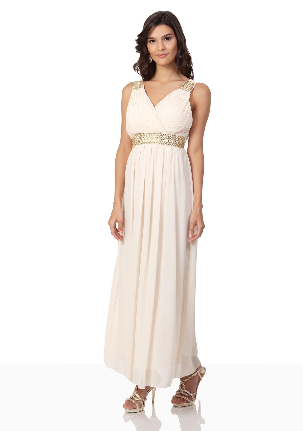 Luxus Abendkleid Beige Spezialgebiet10 Ausgezeichnet Abendkleid Beige Galerie