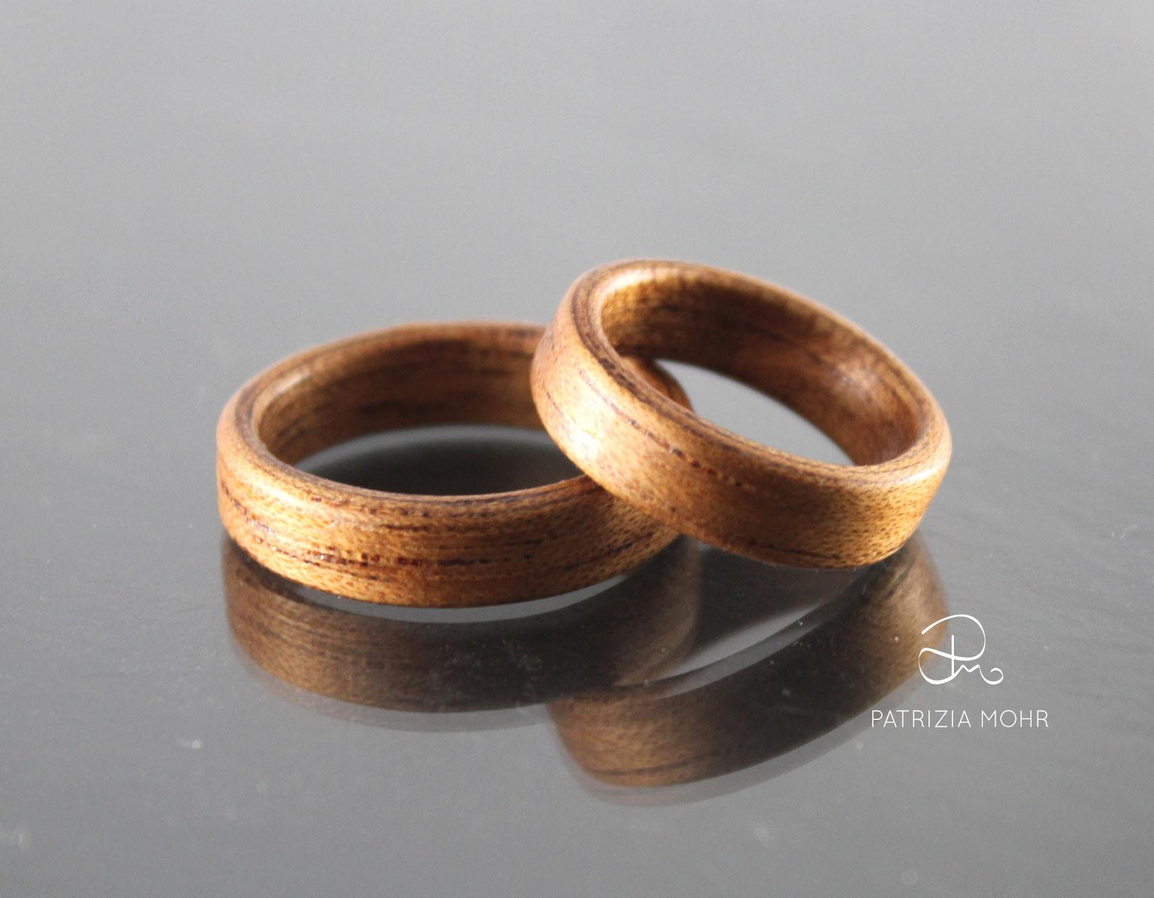 Holzringe - Partnerringe Aus Holz Günstig Online Kaufen