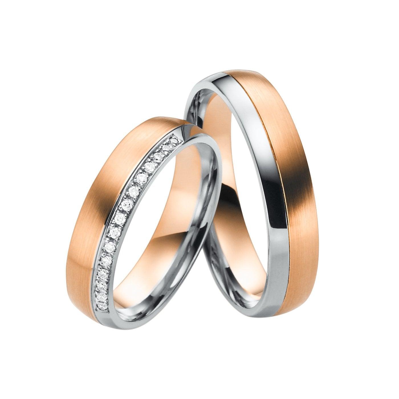 Juwelier Kraemer Trauringe Paris 585/ - Gold – Zus. Ca. 0,07