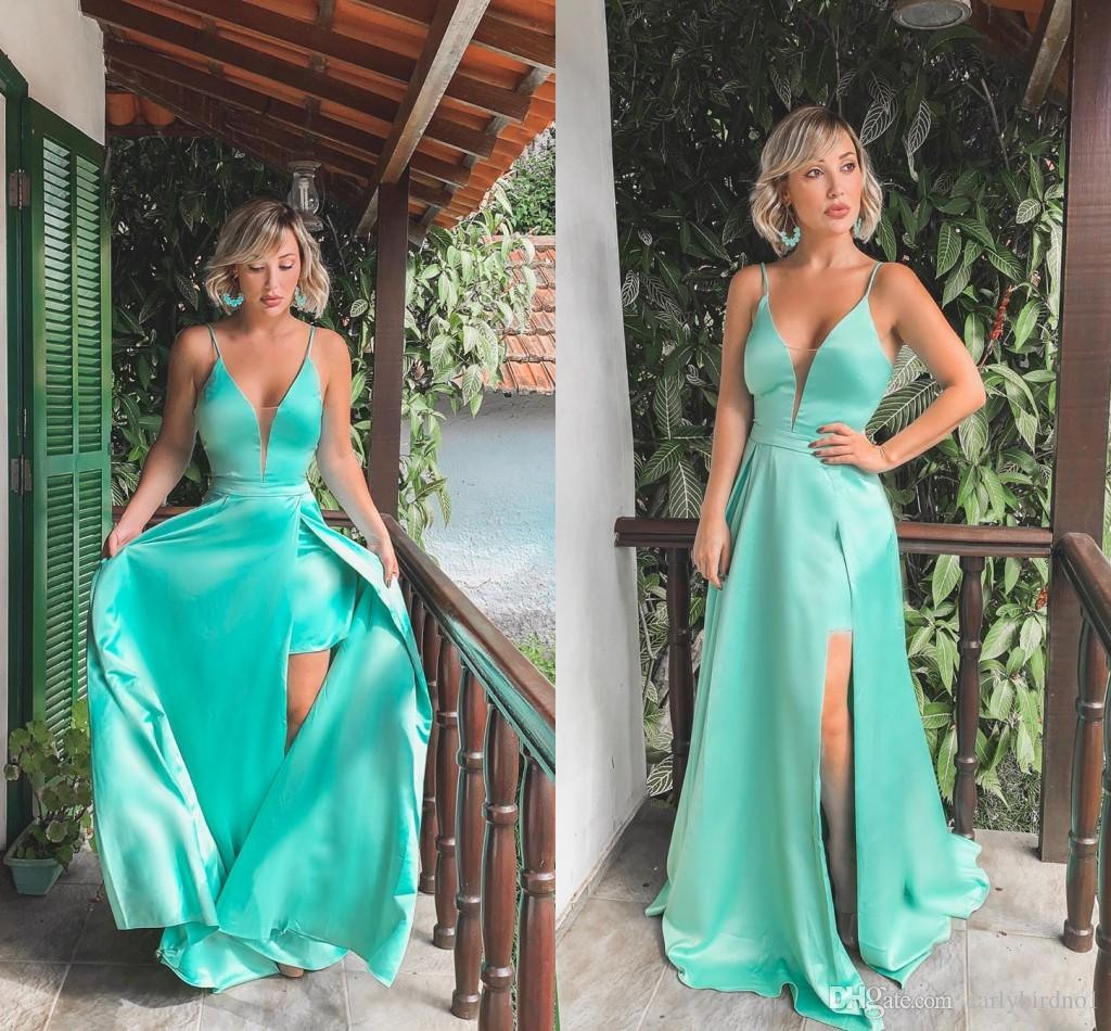 Luxurius Abendkleid Türkis Lang für 2019Formal Fantastisch Abendkleid Türkis Lang Design