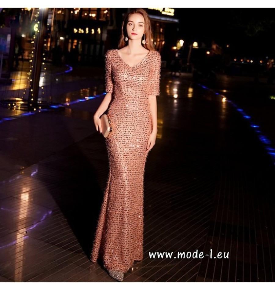 20 Genial Pailletten Abendkleid Lang StylishDesigner Luxurius Pailletten Abendkleid Lang Boutique