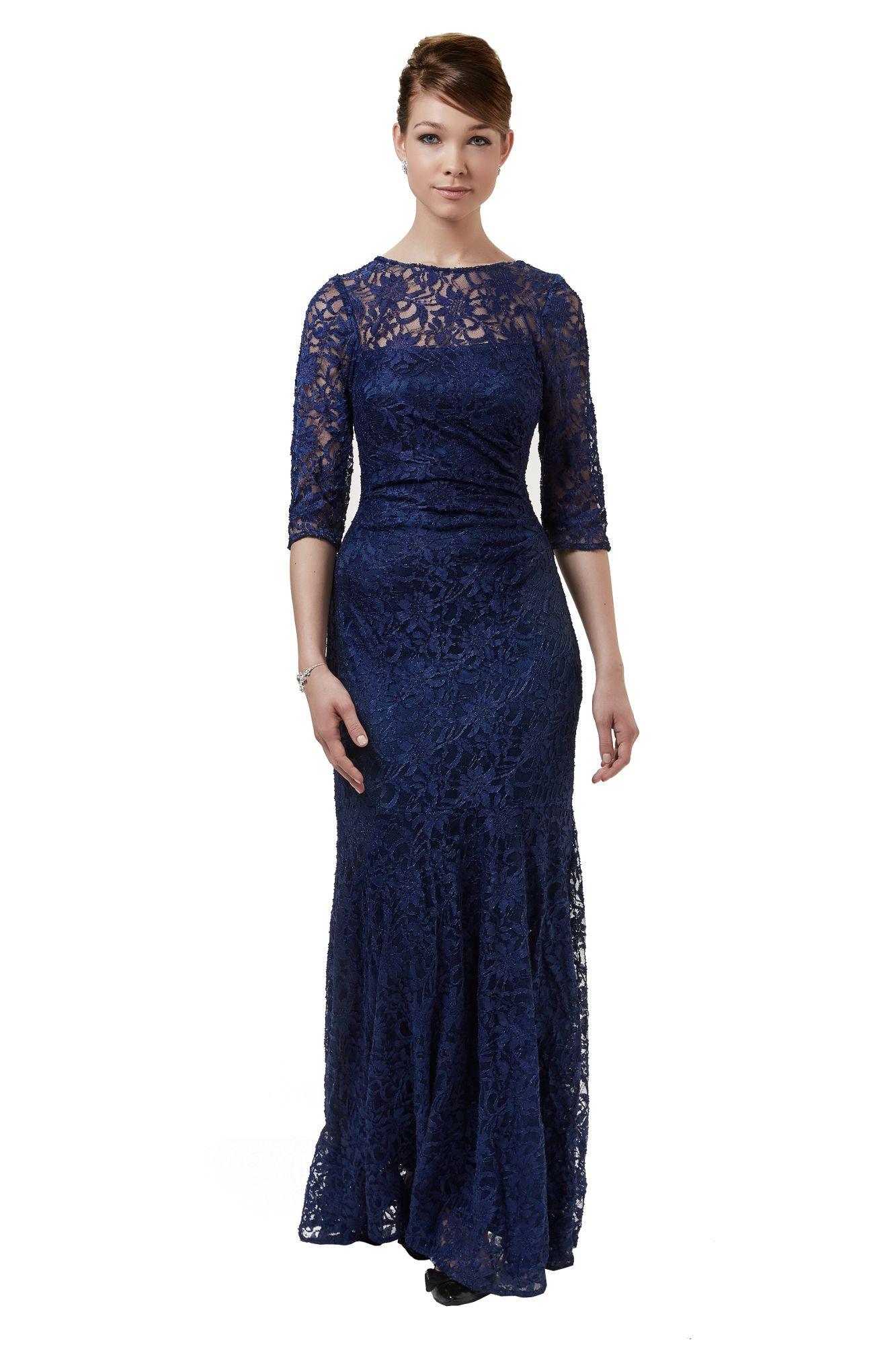 20 Schön Langes Abendkleid Dunkelblau DesignFormal Luxurius Langes Abendkleid Dunkelblau Ärmel