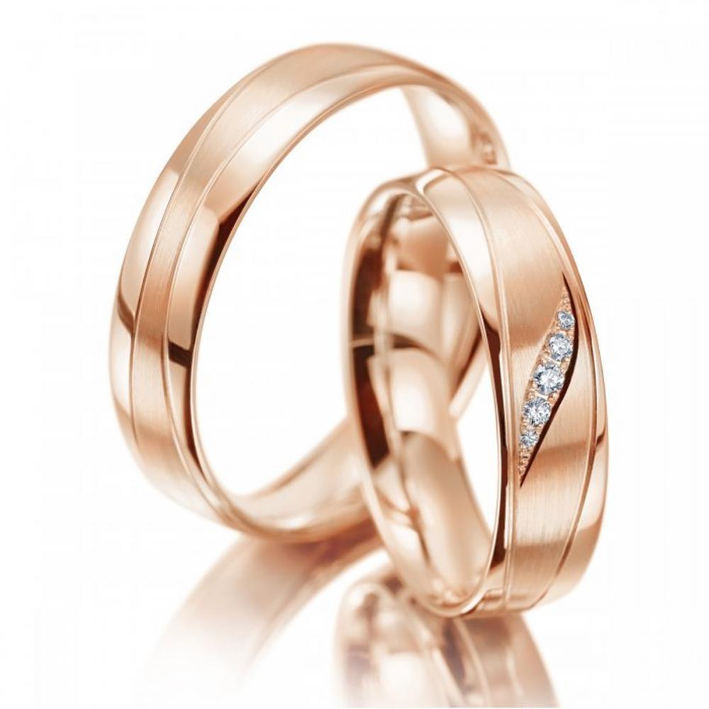 Meister Eheringe Phantastics Wave Rotgold | Juwelier Binder