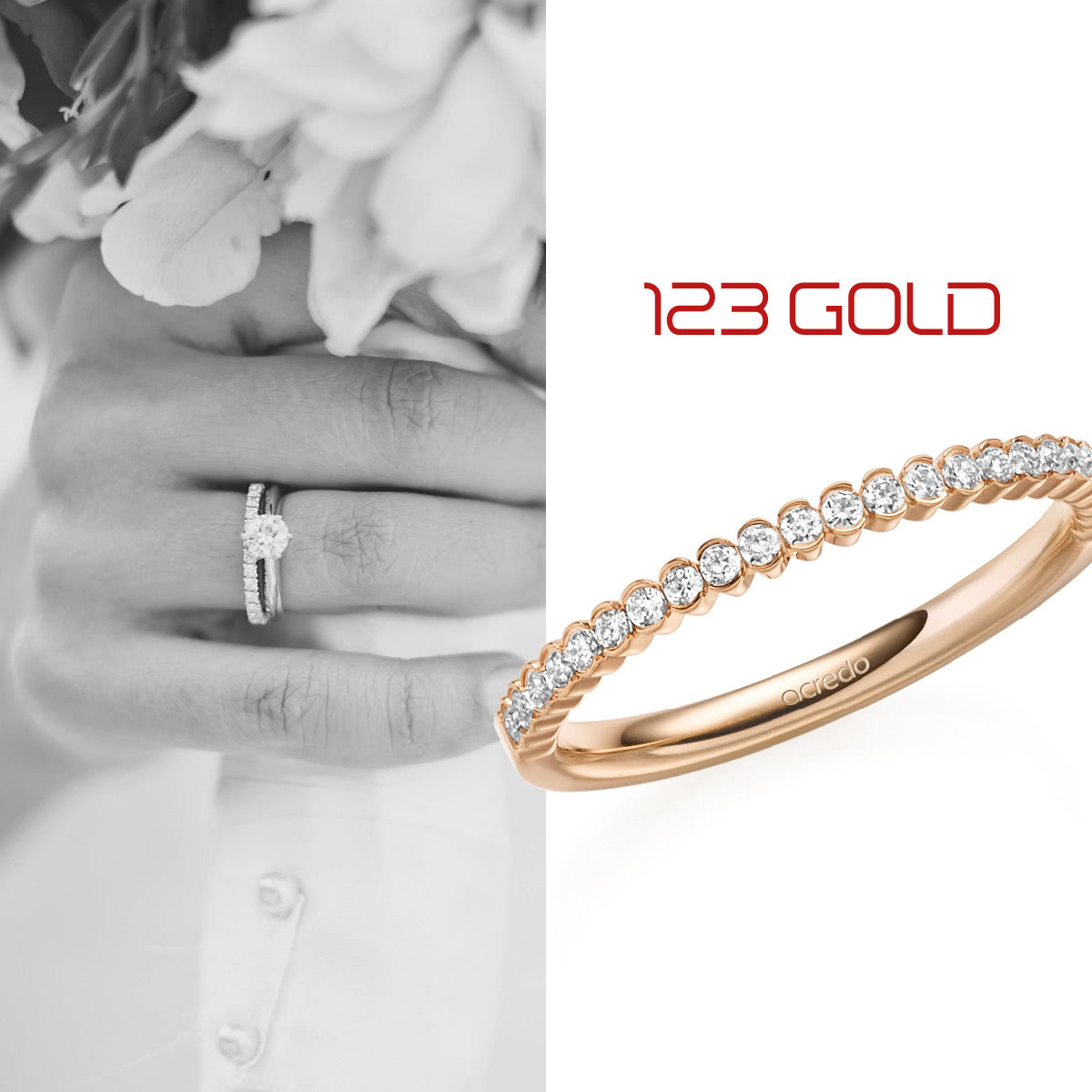 Memoire-Ring | Trauringe/eheringe 123Gold | Ihr Trauring