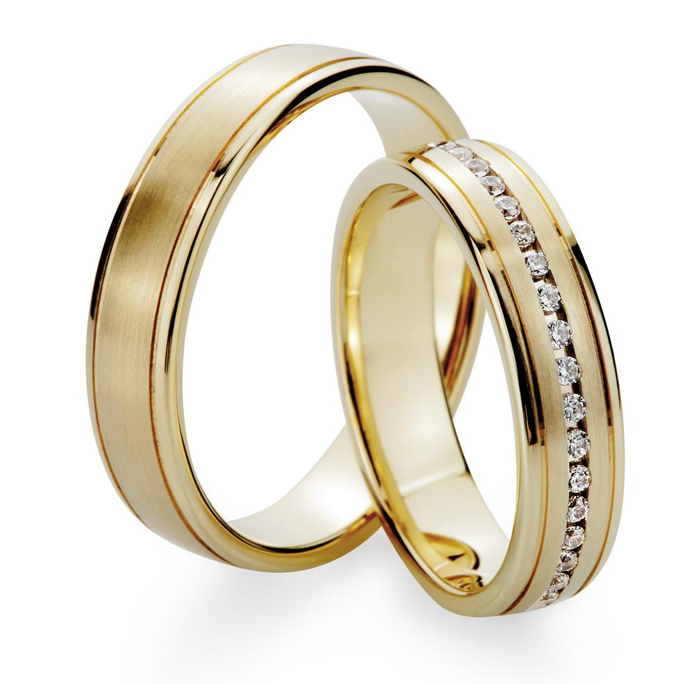 Neueste Mode Online Hier Talsohle Preis Trauringe 585 Gold