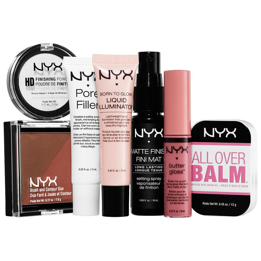 Nyx Mini-Travelset Zum Kennenlernen   Kosmetik, Parfüm, Nyx