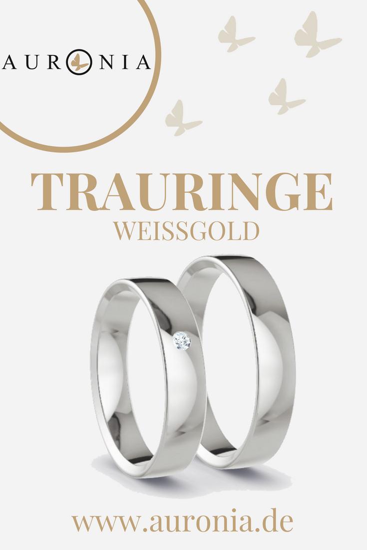 Pin Von Jennifer K Auf Hochzeit | Trauringe Weißgold
