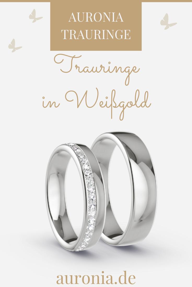 Pin Von Mila Superstar Auf Wedding | Trauringe Weißgold