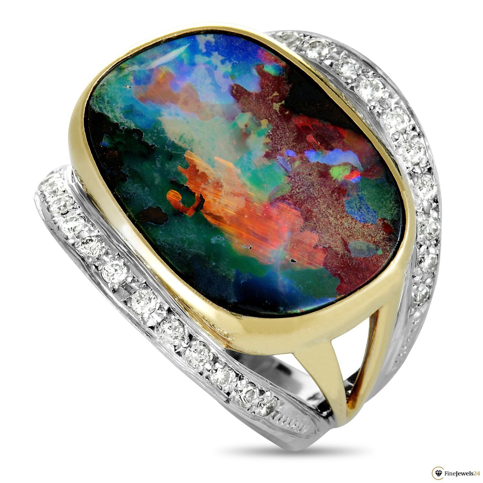 Pinmohammed Musa On Money Line. | Opal Rings, Opal