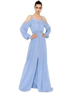 Abend Genial Kleid Hellblau Lang Ärmel17 Coolste Kleid Hellblau Lang Boutique
