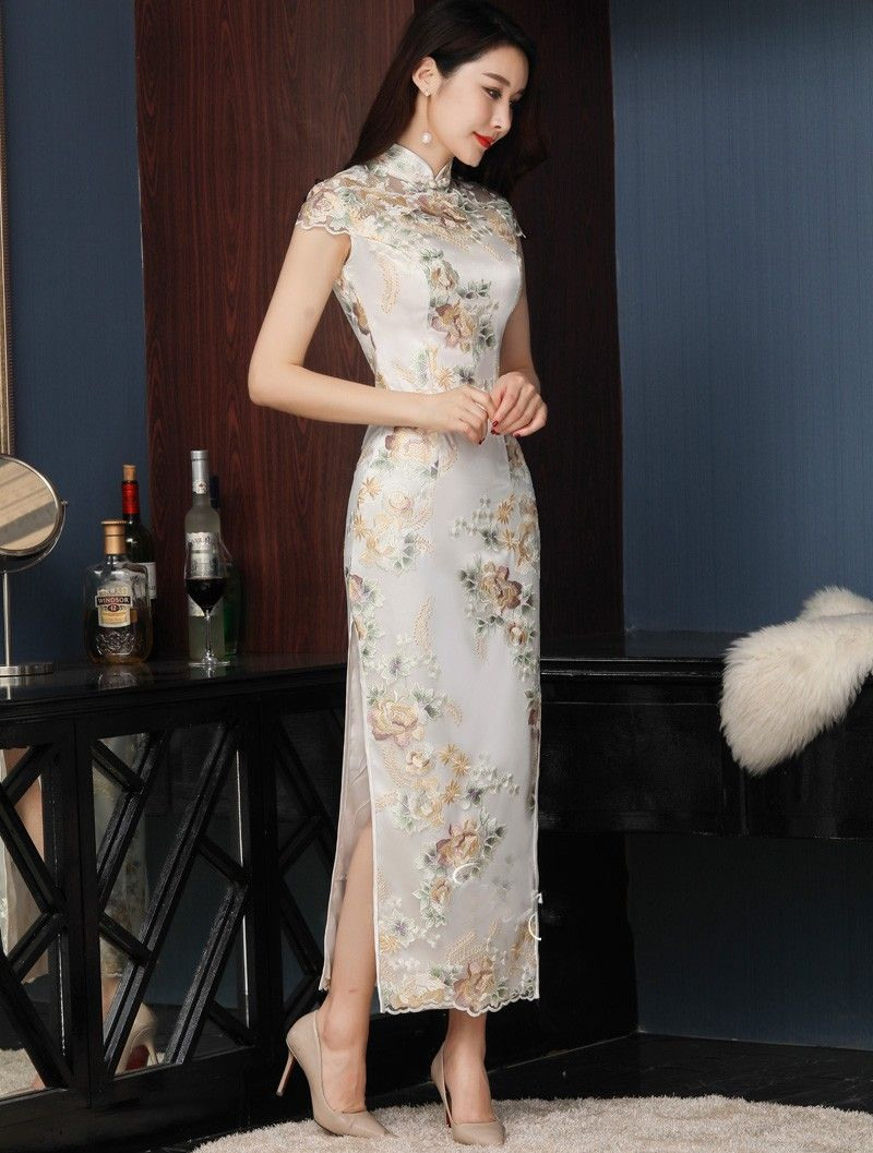 10 Genial Qipao Abendkleid StylishFormal Wunderbar Qipao Abendkleid Vertrieb