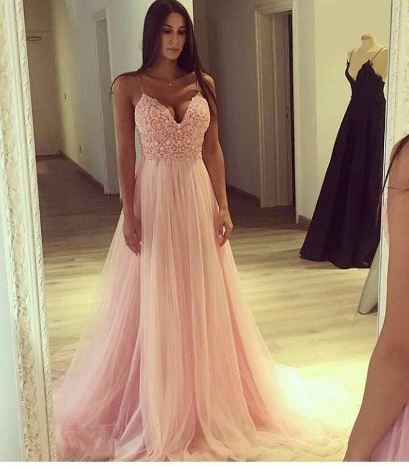 Abend Großartig Rosa Abendkleid Boutique13 Genial Rosa Abendkleid Spezialgebiet