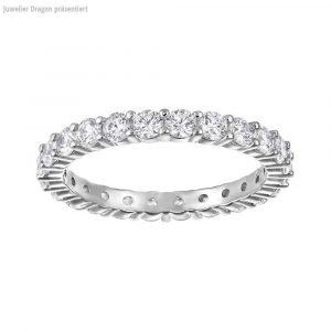 Swarovski Schmuck Ring 5257465 Vittore:ring Xl Czwh/rhs