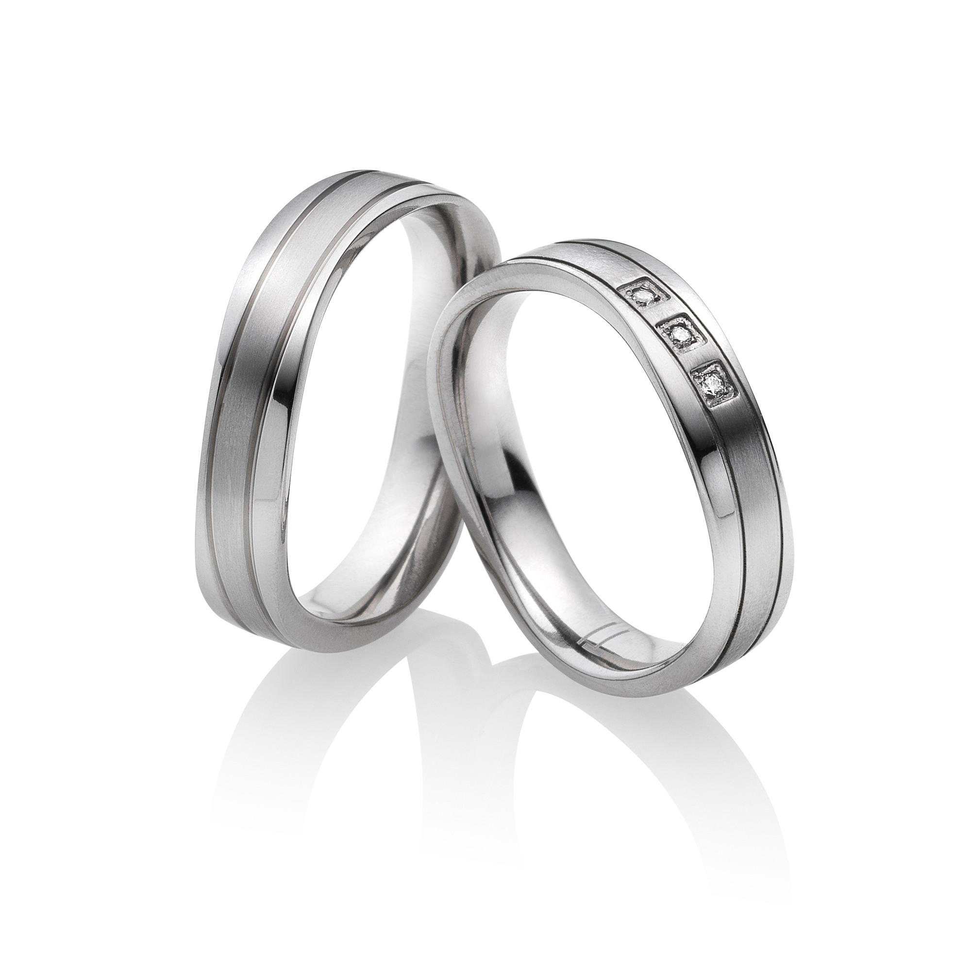 Titan Eheringe Partnerringe Adria | Miomi - Tungsten Carbide Jewelry