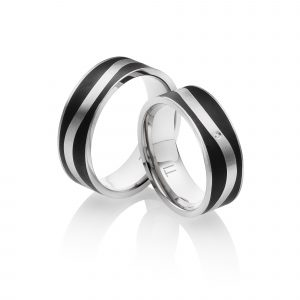 Titan Eheringe Partnerringe Melbourne | Miomi - Tungsten Carbide Jewelry