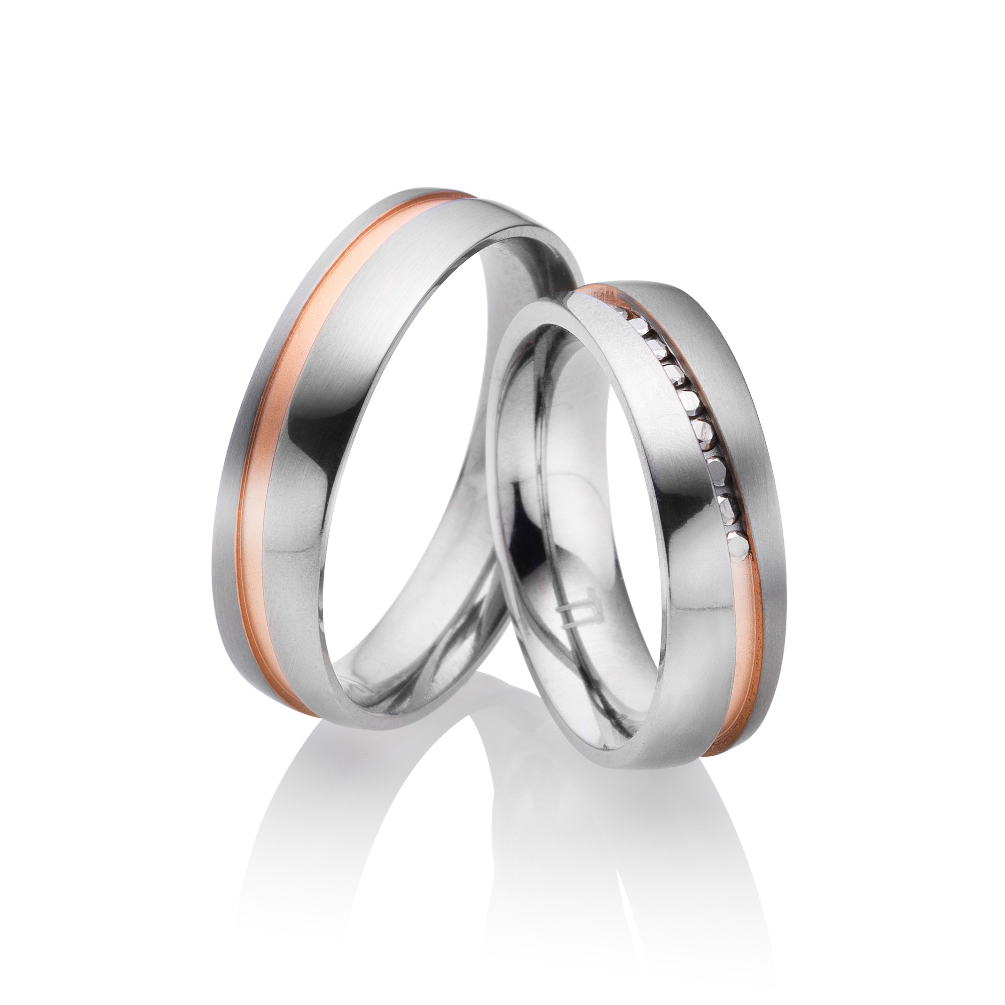 Titan Eheringe Partnerringe Paris | Miomi - Tungsten Carbide Jewelry