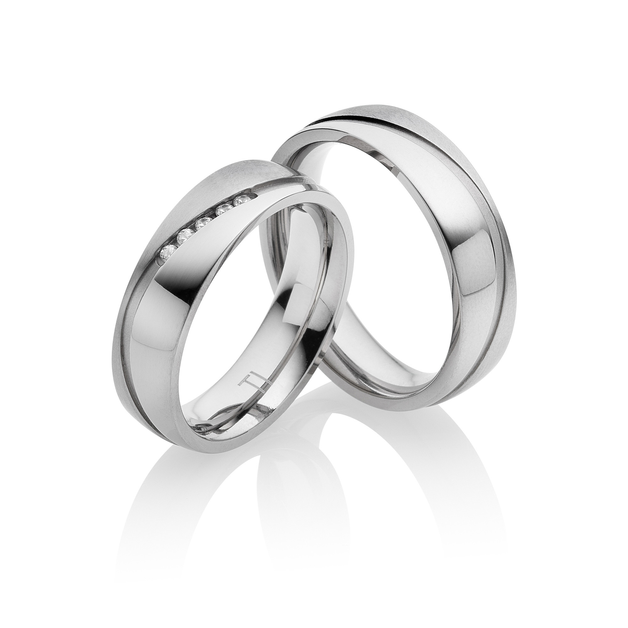 Titan Eheringe Partnerringe Sevilla | Miomi - Tungsten Carbide Jewelry