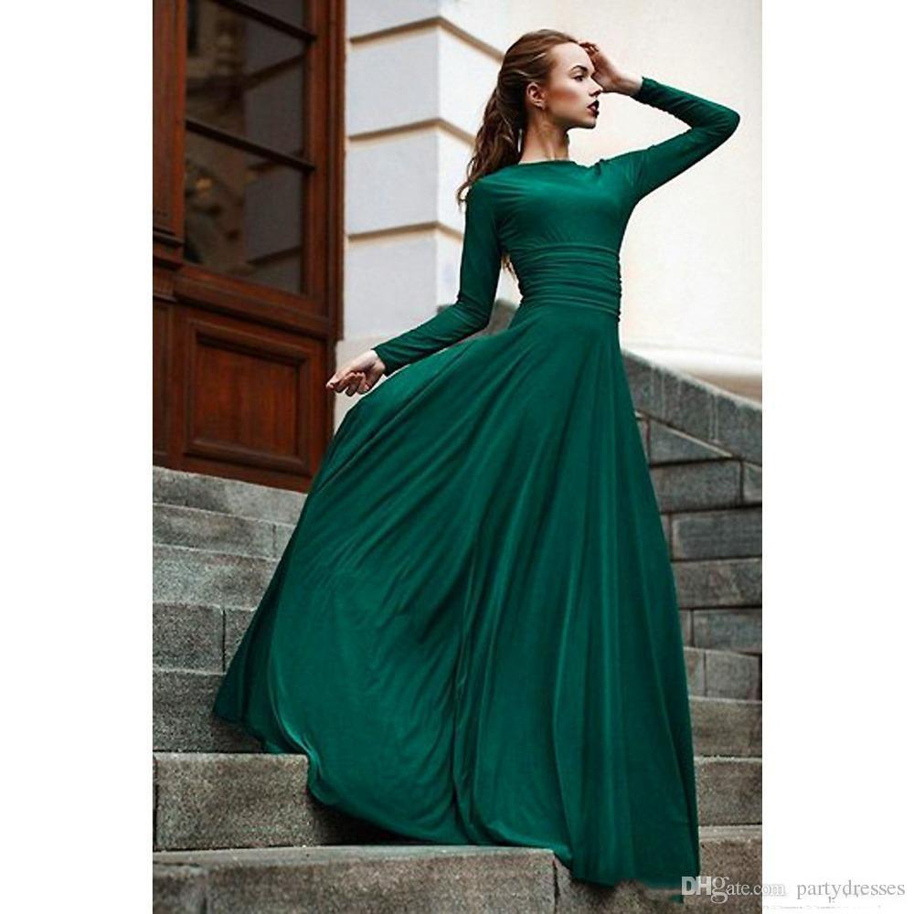 Top Dunkelgrünes Abendkleid Bester Preis - Abendkleid