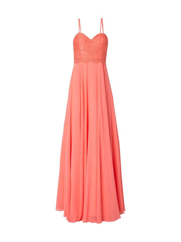 Top Kleid Koralle Spitze für 2019 - Abendkleid