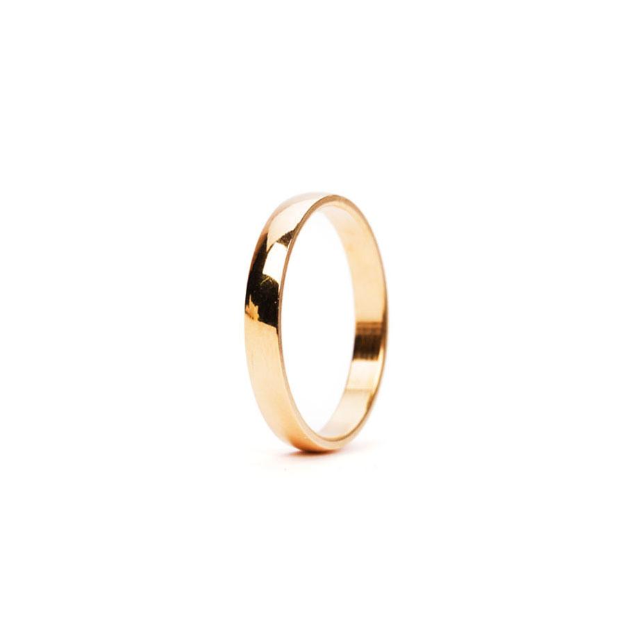 Trau-Ringe-Set - 24K Vergoldet