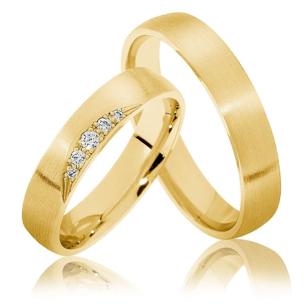 Trauringe Goch 585Er Gelbgold - 1817 | Trauringe, Ringe Und Gold