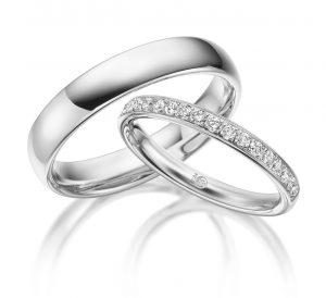 Trauringe Rubin Palladium Ru 1542 Eheringe #jewelry #jewels