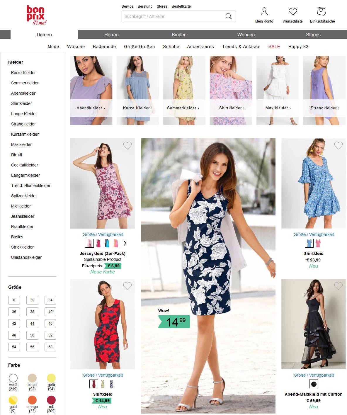 Abend Ausgezeichnet Bonprix Abendkleidung Ärmel10 Leicht Bonprix Abendkleidung Boutique