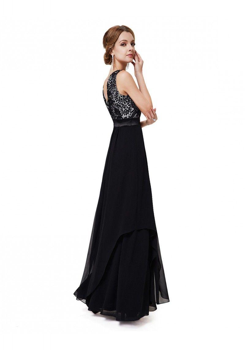 13 Schön Elegantes Abendkleid Schwarz StylishDesigner Einzigartig Elegantes Abendkleid Schwarz Design