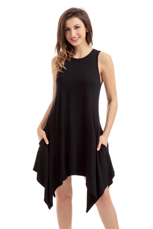 Formal Leicht Schwarzes Ärmelloses Kleid für 2019 Ausgezeichnet Schwarzes Ärmelloses Kleid Boutique