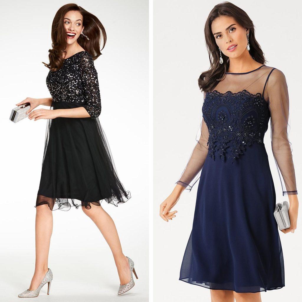 10 Elegant Blaues Kleid Hochzeitsgast Bester Preis - Abendkleid