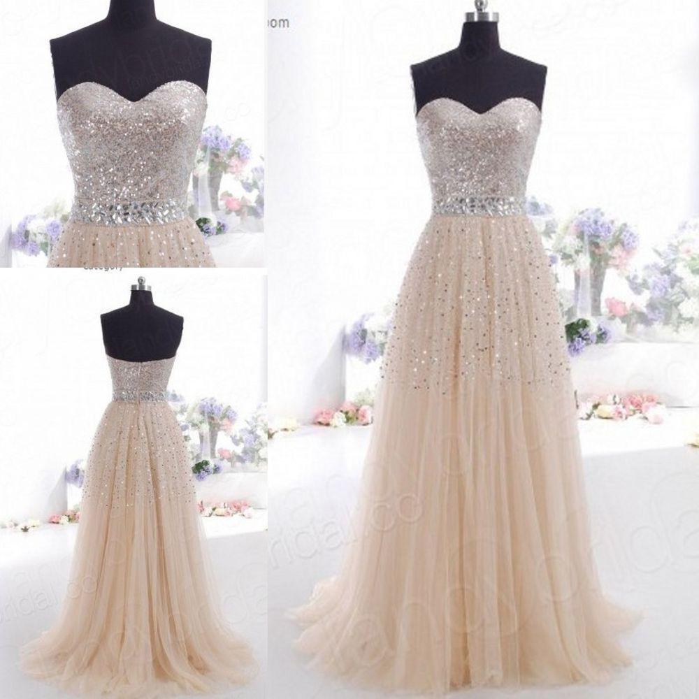 19 Erstaunlich Abendkleid Champagner Lang Design - Abendkleid