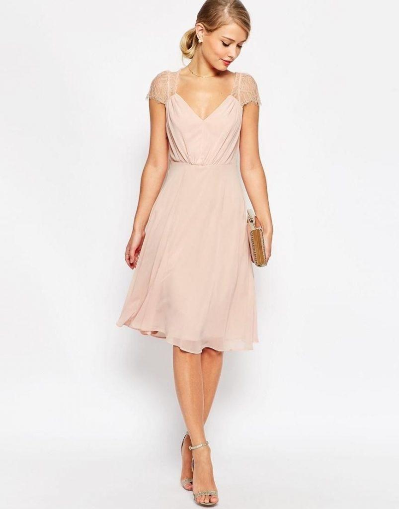 14 Erstaunlich Kleid Altrosa Hochzeit Bester Preis - Abendkleid