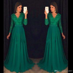 20 Schön Langarm Abend Kleid Vertrieb10 Elegant Langarm Abend Kleid Ärmel
