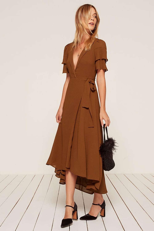 10 Fantastisch Kleid Für Herbst Hochzeit Ärmel - Abendkleid