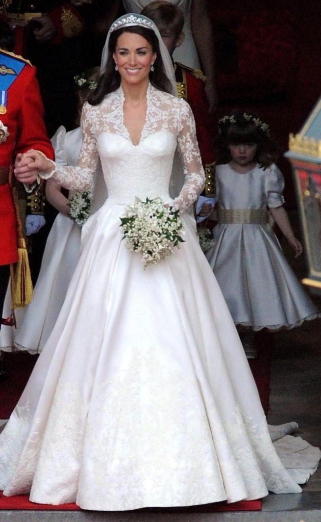 Kate Middleton Hochzeitskleid Preis